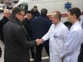 Министры иностранных дел не смогли попасть в Мариуполь из-за непогоды