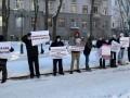 В Харькове наркоманы пикетируют управление полиции