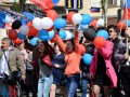 В оккупированном Донецке жителей вывели на улицы в честь Первомая