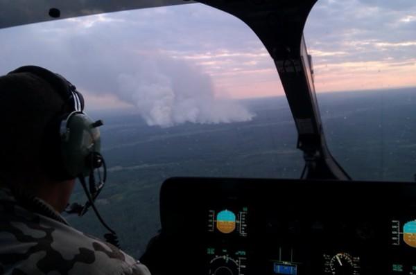 Пожар в Чернобыльской зоне вызвал поджог или неосторожное обращение с огнем, - ГосЧС - Цензор.НЕТ 9565