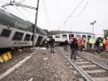 Возле Милана поезд сошел с рельсов, есть жертвы