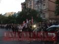 У посольства Беларуси в Киеве идут протесты
