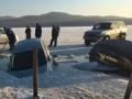 В России 30 машин рыбаков