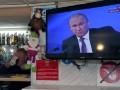 Опрос: 62% россиян поддерживают политику Путина к Украине