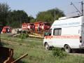 В Запорожской области кислота из цистерны вылилась на рельсы