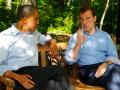 Медведев пригласил Обаму посмотреть на