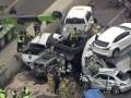 В США на скользкой дороге столкнулись сотни автомобилей