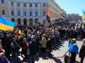 В Одессе протестуют против увольнения Сакварелидзе