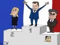 Кремль остался с носом: карикатуры DW о ходе выборов во Франции