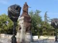 В Крыму оккупанты установили памятник Екатерине II