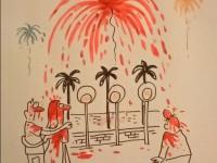 Художница Charlie Hebdo нарисовала карикатуру на теракт в Ницце