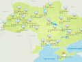 В Украине бушуют грозы и шквалы