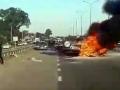 Под Киевом в ДТП сгорела девушка, водитель в реанимации