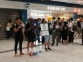 Протестующие в Гонконге устроили транспортный коллапс