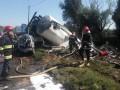 В Тернополе грузовик столкнулся с четырьмя автомобилями