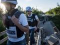 ОБСЕ зафиксировала вблизи Донецка надводную ракетную систему
