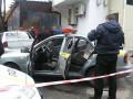 В Киеве совершили нападение на авто частной охранной фирмы