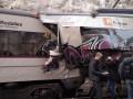 В Испании столкнулись два поезда, десятки пострадавших