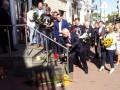 Под посольством Нидерландов почтили память жертв Боинга