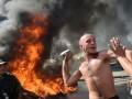 Майдановцы угнали автобус коммунальщиков, чтобы «забрать раненых в Луганске»