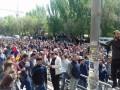 Армению охватили протесты: в Ереване перекрыты улицы