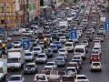 Киев парализовали многочисленные пробки