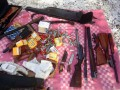 С оккупированного Донбасса в Киев пытались перебросить арсенал оружия