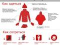 Как не замерзнуть на Евромайдане (ИНФОГРАФИКА)