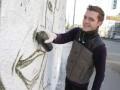 Победитель конкурса Cirque du Soleil приступил к созданию масштабного граффити в центре Киева