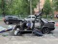 Оторванная нога и выпавший глаз: В Киеве жесткое ДТП с маршруткой