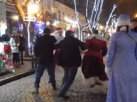 На Дерибасовской подрались Деды Морозы
