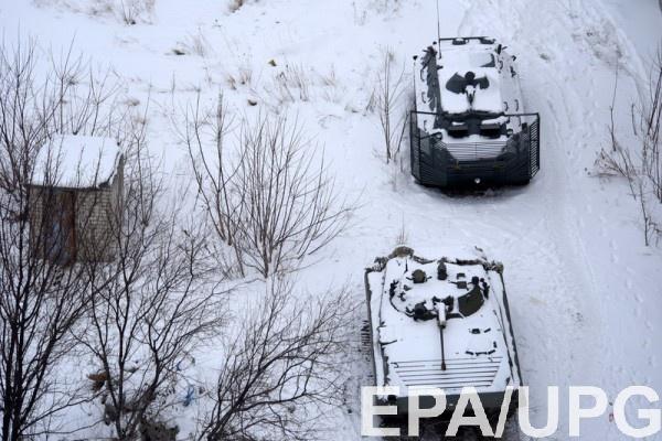 Боевики вели огонь по Авдеевке из танков