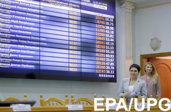 Предыдущий состав ЦИК Рада уволила сегодня