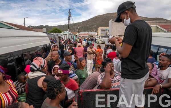 В Африке служная ситуация с ресурсами медицины для борьбы с коронавирусом