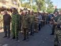 По Донецку провели пленных украинских солдат и показали