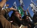 В Пакистане протесты против Charlie Hebdo вылились в стычки с полицией