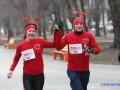 В Днепре и Киеве устроили забеги в честь Дня влюбленных