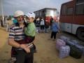 Украинских беженцев переселят из Крыма на материковую Россию в течении недели
