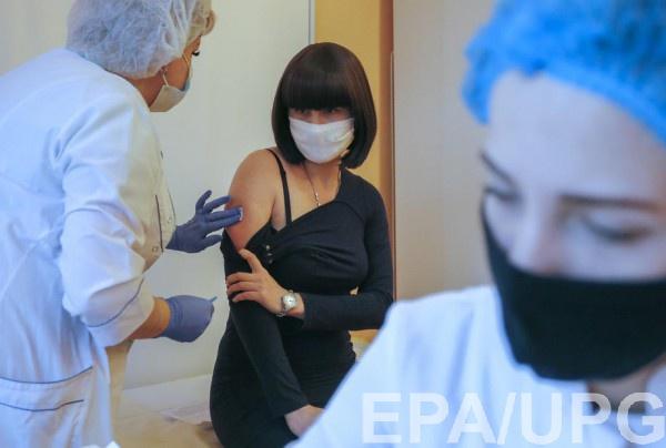 COVID-вакцинации в Украине: За день сделано 159 прививок