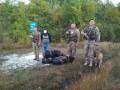 Луганские пограничники поймали российского контрабандиста шапок