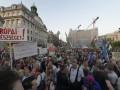 Венгры массово протестовали против политики Орбана