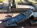 Под Житомиром разгромили кладбище: осквернены могилы воинов АТО