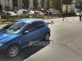 В Киеве Peugeot сбил велосипедиста