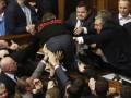Оппозиция вновь заблокировала трибуну и президиум в Раде
