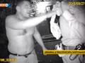 В Киеве пьяный полуголый милиционер cкандалил с полицейскими