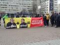 Жители Ирпеня пикетировали киевскую ОГА