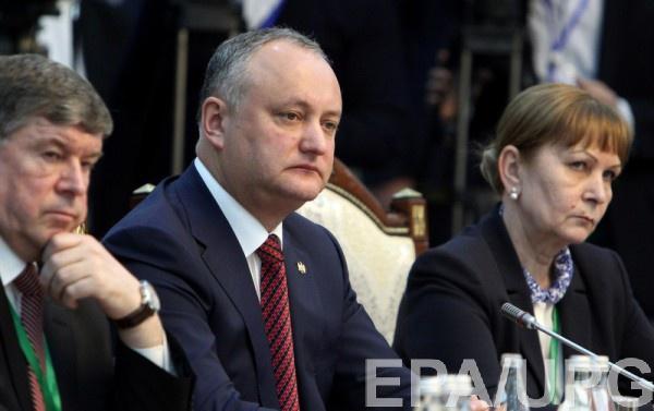 Первым условием Додон назвал промолдавское большинство в парламенте