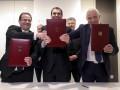 Давос: Украина подписала
