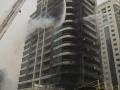 В Дубае горел небоскреб Zen Tower