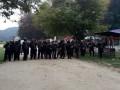 Под Львовом заблокировали бойцов Семенченко с оружием